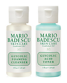 Receive a FREE Glycolic Cleansing duo with $30 Mario Badescu purchase!