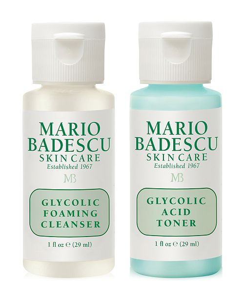 Mario Badescu Receive A Free Glycolic Cleansing Duo With 30