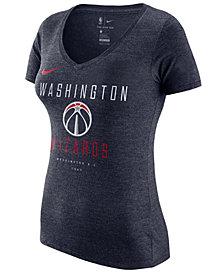 Nike Women's Washington Wizards Dri V-Neck T-Shirt