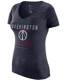 Nike Women's Washington Wizards Dri V-Neck T-Shirt