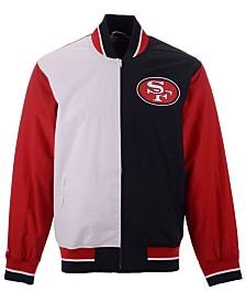 Mitchell & Ness Men's San Francisco 49ers Team History Warm Up Jacket 2