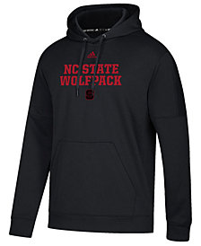 adidas Men's North Carolina State Wolfpack Team Issue Fleece Hoodie