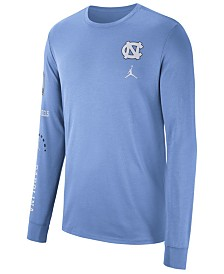 Nike Men's North Carolina Tar Heels Long Sleeve Basketball T-Shirt