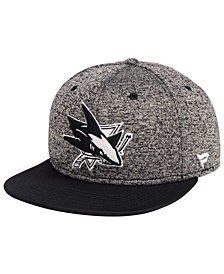 Authentic NHL Headwear San Jose Sharks Emblem Snapback Cap