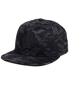 Chicago Blackhawks Mute Camo Snapback Cap