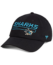 Authentic NHL Headwear San Jose Sharks Rinkside Fundamental Adjustable Cap