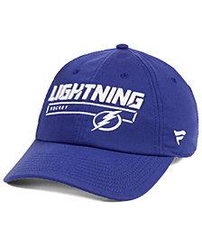 Authentic NHL Headwear Tampa Bay Lightning Rinkside Fundamental Adjustable Cap