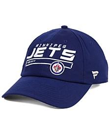 Winnipeg Jets Rinkside Fundamental Adjustable Cap
