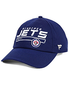 Authentic NHL Headwear Winnipeg Jets Rinkside Fundamental Adjustable Cap