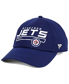 Authentic NHL Headwear Winnipeg Jets Rinkside Fundamental Adjustable Cap
