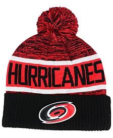Authentic NHL Headwear Carolina Hurricanes Goalie Knit Hat