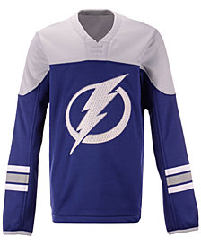 Outerstuff Tampa Bay Lightning Defenseman Fleece Sweatshirt, Big Boys (8-20)