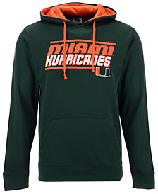 Colosseum Men's Miami Hurricanes Stack Performance Hoodie