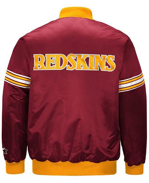 newest b9dc0 323bc G-III Sports Men's Washington Redskins Draft Pick Starter ...