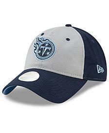 New Era Women's Tennessee Titans Gray Glitter 9TWENTY Cap