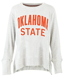 Pressbox Women's Oklahoma State Cowboys Cuddle Knit Sweatshirt