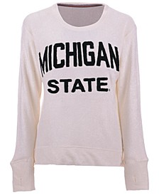 Women's Michigan State Spartans Cuddle Knit Sweatshirt