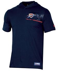 Men's Oklahoma City Thunder Baseline Short Sleeve Hooded T-Shirt