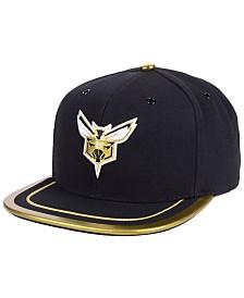 9af85debfc5 Mitchell   Ness Charlotte Hornets Soutache Viz Snapback Cap