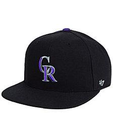 '47 Brand Boys' Colorado Rockies Basic Snapback Cap