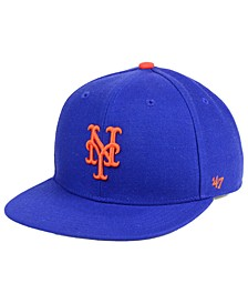 Boys' New York Mets Basic Snapback Cap