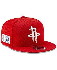 New Era Houston Rockets Jock Tag 9FIFTY Snapback Cap
