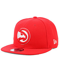 New Era Atlanta Hawks Basic 9FIFTY Snapback Cap
