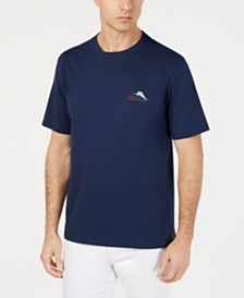 3e4ffcc19d Tommy Bahama Men s Sworded Past Graphic Pima Cotton T-Shirt