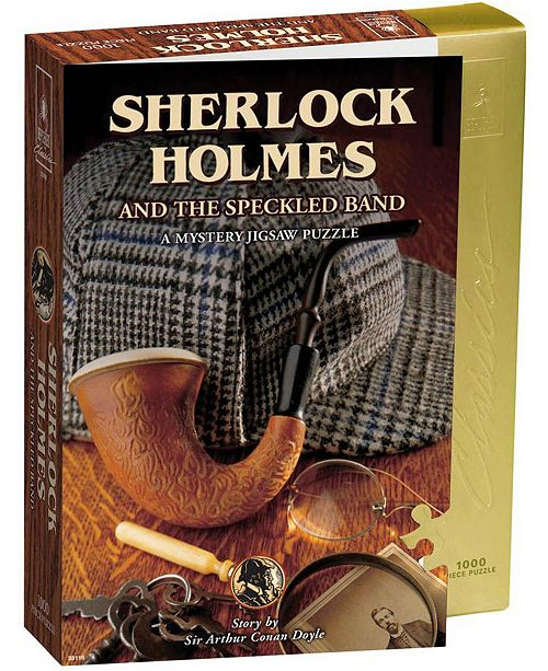Areyougame Sherlock Holmes and The Speckled Band Mystery Jigsaw Puzzle