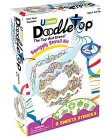 Doodletop Stencil Kit - Sweets