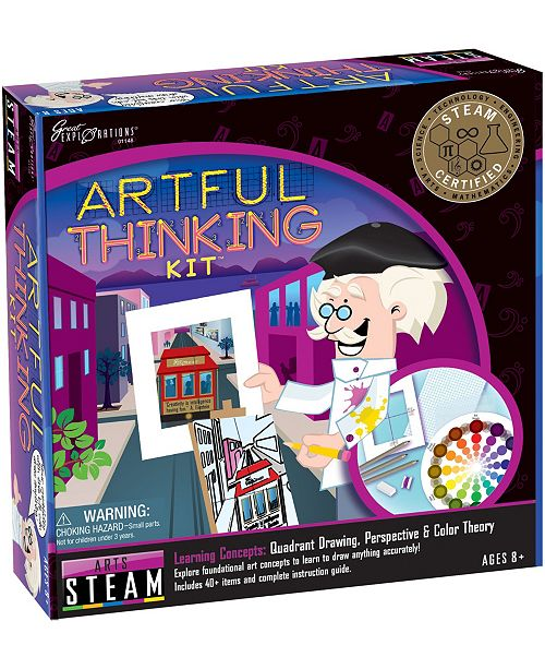 Areyougame STEAM Learning System, Arts- Artful Thinking Kit