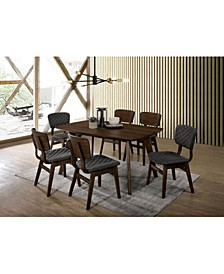 Jaykub Mid-Century Modern Dining Table
