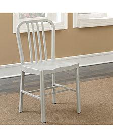 Belina Transitional Slatted Side Chair (Set of 2)