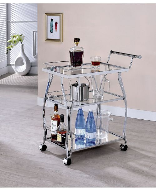 Furniture of America Pardona Contemporary Serving Cart Collection