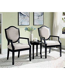 Hallow 3-Piece Accent Table and Chair Set