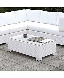 Arthur White Outdoor Coffee Table