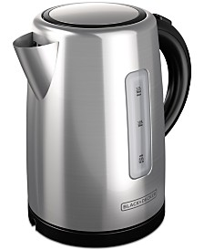 Black & Decker KE2000 Electric Kettle, 1.7 L Stainless Steel