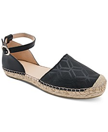 Ingrid Perforated Espadrille Flats