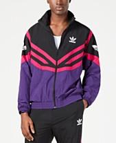 b7bc56b9be2 adidas Men's Originals Sportive Colorblocked Track Jacket