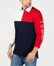 Tommy Hilfiger Men's Colin Rugby Polo, Created for Macy's
