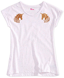 Epic Threads Big Girls Unicorn-Print T-Shirt, Created for Macy's