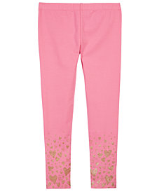 Epic Threads Toddler Girls Heart Border-Print Leggings, Created for Macy's