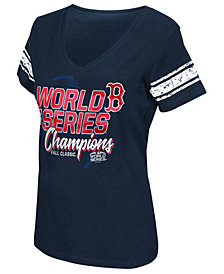 G-III Sports Women's Boston Red Sox 2018 World Series Champ First Pick T-Shirt