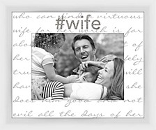 Living 31Virtuous Wife II decorative Photo Frame