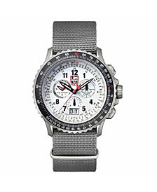 Luminox Men's F-22 Raptor Titanium Chrono Nylon Strap Watch