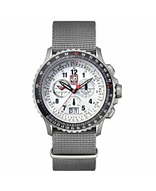 Luminox Men's 9249 F-22 Raptor Titanium Chrono Nylon Strap Watch