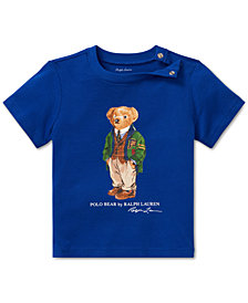 Polo Ralph Lauren Baby Boys Polo Bear Cotton T-Shirt