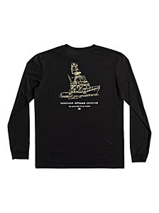 Quiksilver Waterman Men's Nicest Way to Fish Graphic TShirt