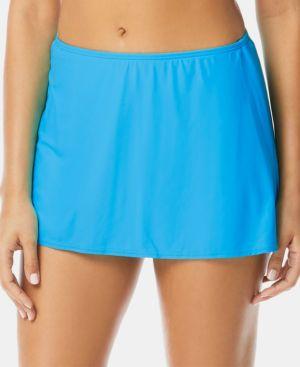 COCO REEF | Coco Reef Solid Slit Swim Skirt Women's Swimsuit | Goxip