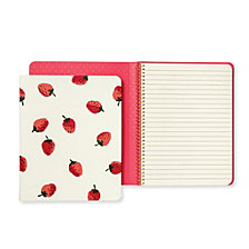 Kate Spade New York Concealed Spiral Notebook, Strawberries